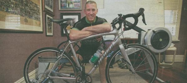 Matt Fuller on the ride of his life