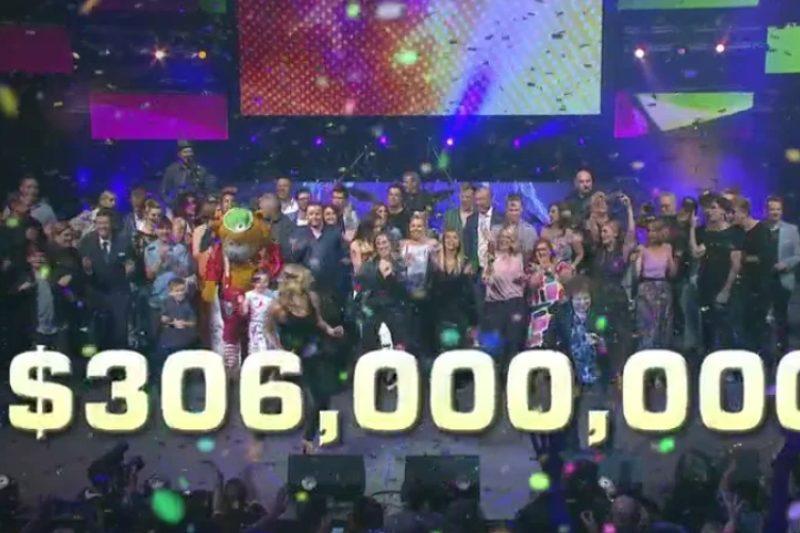 Telethon hits magic milestone