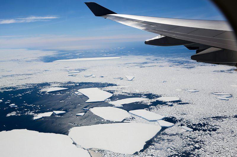 Antarctica Flight for Telethon