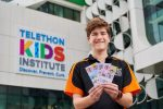 Telethon Hero Scott Guerini Urges Customers to Dig Deep at Coles