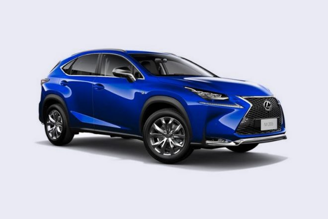 Win a Lexus NX200t Luxury for $100