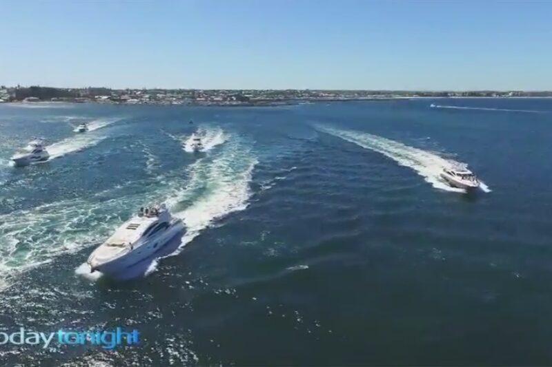 Boating community raises money for Telethon at Rottnest