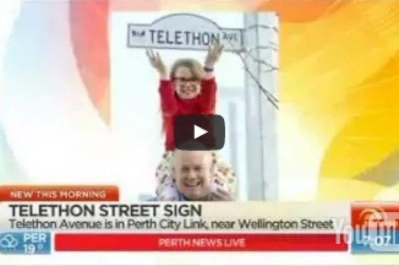 Telethon Avenue unveiled in Perth
